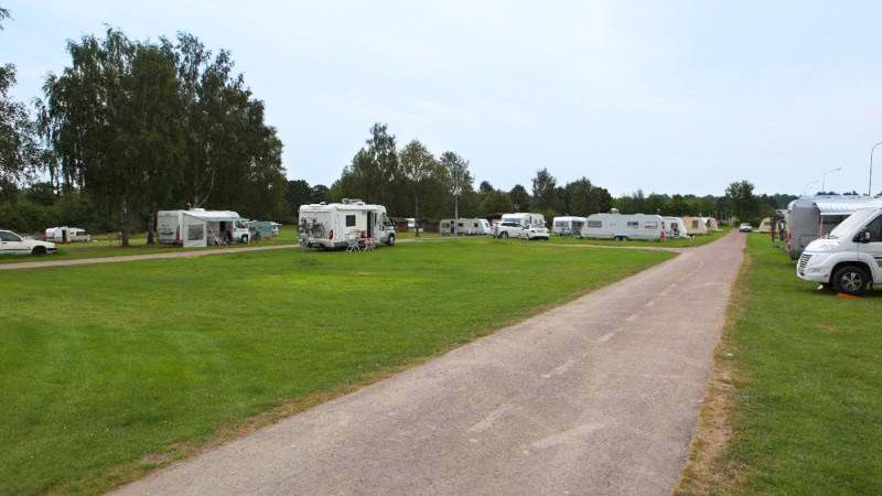 Husvagnsområde På Norrköpings Camping